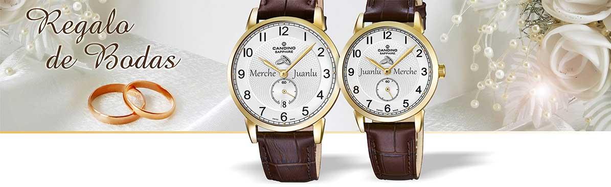 relojes para bodas